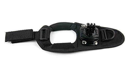 DuraGadget Handgelenk-/ Daumen-Halterung für DBPOWER 4K Sports Action Kamera | DBPOWER EX4000 | DBPOWER EX5000 | DBPOWER SJ4000 Action Kameras