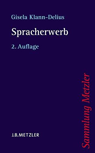 Spracherwerb (Sammlung Metzler)