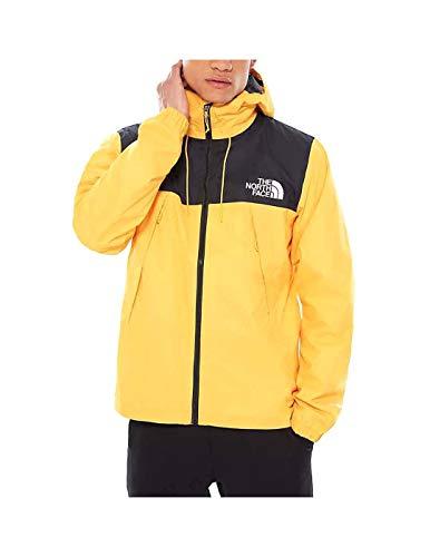 Chaqueta The North Face amarilla para hombre de montaña