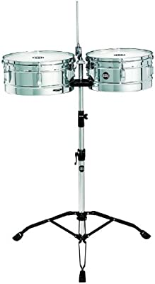 Meinl Percussion HT1314CH - Timbales, color plateado (13