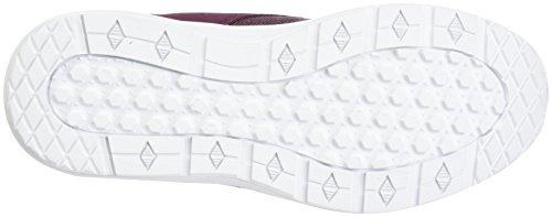 Vans Unisex-Erwachsene ISO 3 Sneaker Rot (T/yellow)