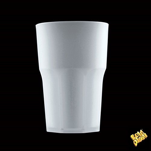 Becher Granity Drink Safe PP Satin 400 cc Pck 5 (transparent) (Cc Satin)