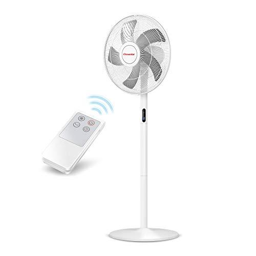 Inventor Ventilateur - 40 cm de diamètre - sur Pied Puissant de 48W avec 8 Vitesses, Télécommande & 2-ans Garantie