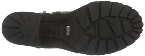 BUFFALO - B163a-72 P1735a Pu, Stivali a metà polpaccio con imbottitura leggera Donna Nero (nero (black 01))