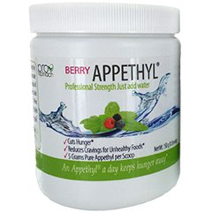 Appethyl, All-Natural Berry Flavor - Pure, Professional Strength Appetite Suppressant -30 servings
