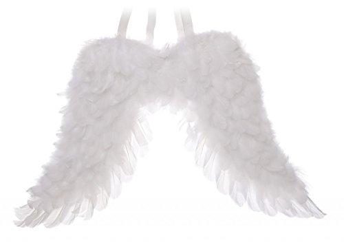 flauschig weiß Feder Engel Flügel Weihnachtskrippe Fancy Kleid Festive