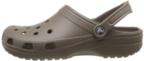 Crocs Unisex Adult Classic Clogs – Grey (Pewter), 8 UK Men/9 UK Women