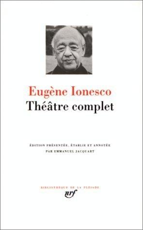Ionesco Theatre Complet [Pdf/ePub] eBook