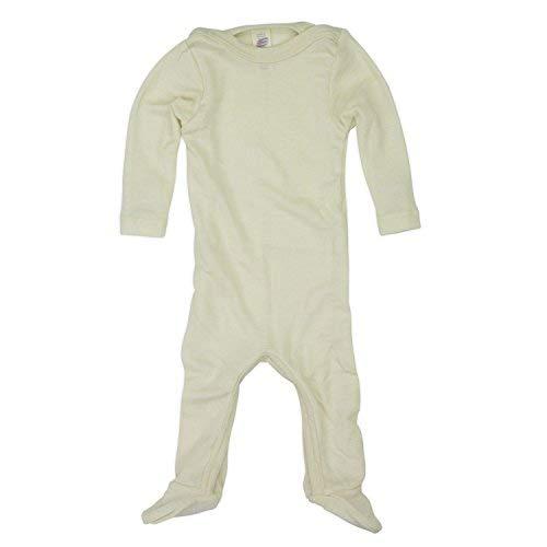 Wolle Feuchtigkeit (Engel Baby-Schlafoverall, Natur, Gr. 62/68)