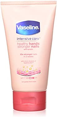 Vaseline Hand Cream Intensive Care Healthy Hands And Stronger Nails With Keratin 75ml