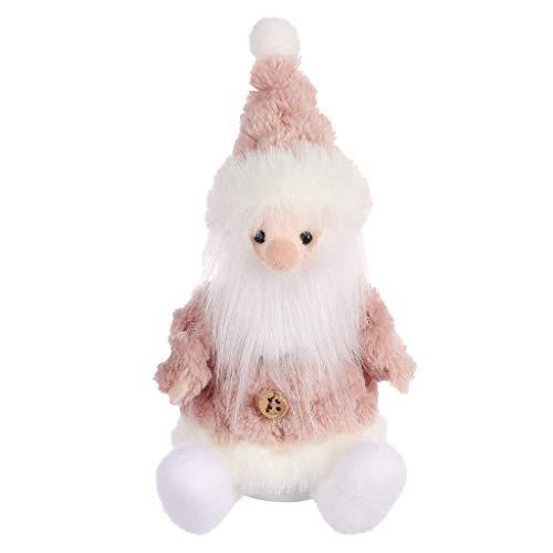 Weihnachtsschmuck Weihnachtsmann Schneemann Rentiere Spielzeug Puppe Hängen Dekoration Geschenk, QHJ Deko Weihnachten Weihnachtsnette Inneneinrichtung Mit Puppenverzierungen (B)