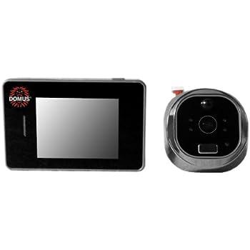 Domus Spioncino Digitale.Domus Se01s Smart Eye Spioncino Digitale Intelligente Argento