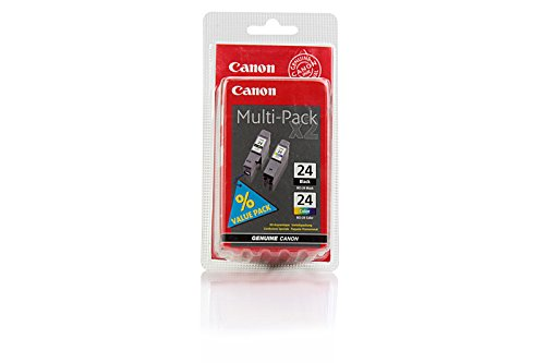 Canon Bci-24 Black Tinte (Canon I 450 X - Original Canon 6881A051 / BCI-24 / S200 Black + Color Tinte -)