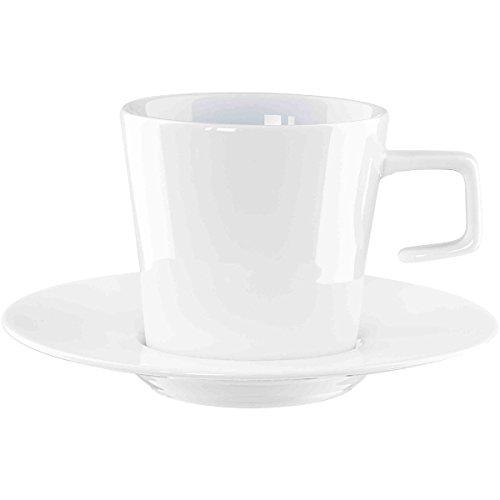 Caffè Al pintados a mano con plato de taza de café con platillo 0, 1