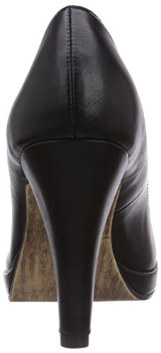 Tamaris 22426, Decolleté chiuse donna Nero (Schwarz (Black Matt 015))
