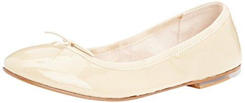 Bloch Soft Patent Ballerina, Ballerine à bout fermé femme Marron - Brown (Cap)