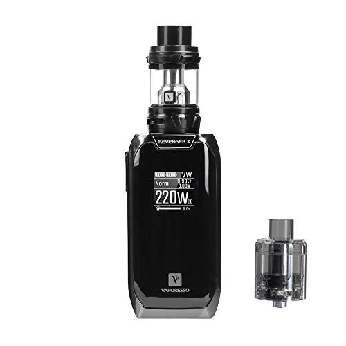 gelung Vaporesso Revenger X 5 ml Kit NRG Tank E USB Versiegelung für Batterie 18650 ohne Nikotin und Tabak, kein Flüssigkeit 4 ()