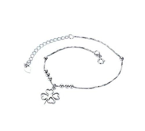 Anklet for Women Girl 925 Sterling Silver Anklets,8.3