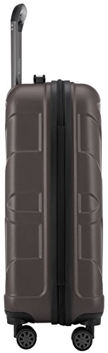 SUITLINE - Handgepäck Hartschalen-Koffer Koffer Trolley Rollkoffer Reisekoffer, TSA, 56 cm, 35 Liter, Titan -