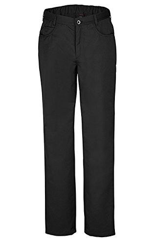 Preisvergleich Produktbild GREIFF Herren Kochhose mit Gummibund in schwarz,  Farbe:schwarz,  Größe:58