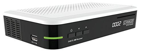 SCHWAIGER DVB-T2 Receiver, digitaler freenet HD-Receiver (freenet zertifiziert), Receiver mit Irdeto Entschlüsselungssystem und H.265 / HEVC Codec -DTR700HD