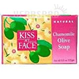 Kiss My Face Bar Soap Olive & Chamomile,...