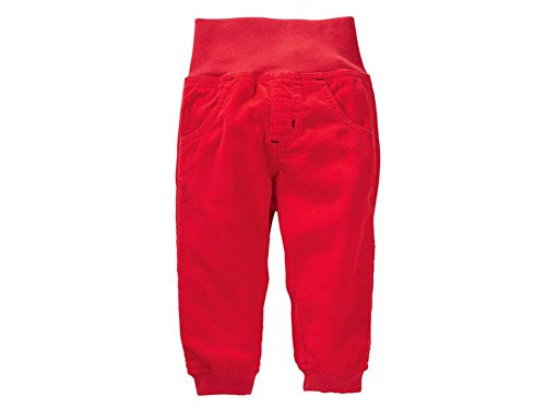 Baby Jungen Cordhose Cord Hose (92, rot)