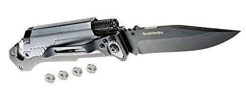 Bushmen Thunder Multifunktionsmesser, Schwarz, One Size