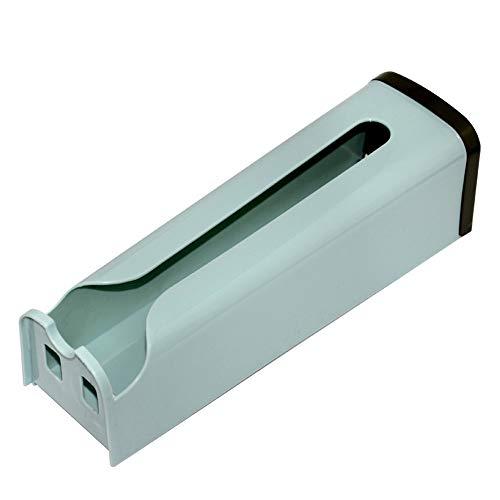 HXZ Dispensador de Racks de Almacenamiento de Bolsas de plástico montado en la Pared, Bolsa de Basura de extracción, fácil de Cubrir con Pasta, fácil de almacenar, Apariencia Elegante