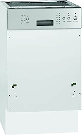 Bomann GSPE 774.1 teilintegrierbarer Geschirrspüler / A+ A / 9 Maßgedecke / 55 db / Edelstahl / 6 Programme / Überlaufsicherung / Lieferung ohne Frontplatte