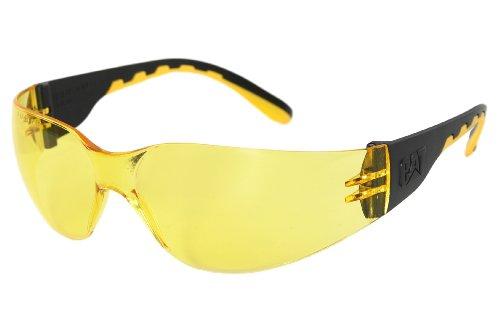 Schutzbrille-Freizeitbrille Track 112 gelb CATERPILLAR