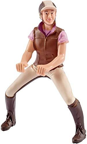 Schleich 42162 Spielfigur Freizeitreiterin, 14 cm, rosa