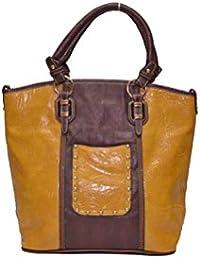 Senora Handbag for Women- Colour(Mustard)