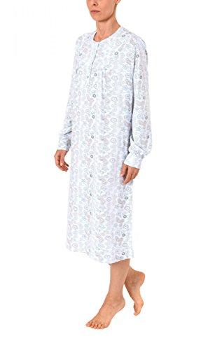Normann Copenhagen -  Camicia da notte  - Donna Hellblau