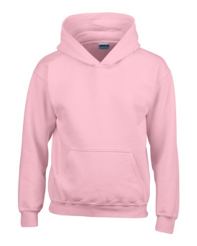 GILDAN CHILDRENS HEAVY BLEND YOUTH HOODED HOODY SWEATSHIRT