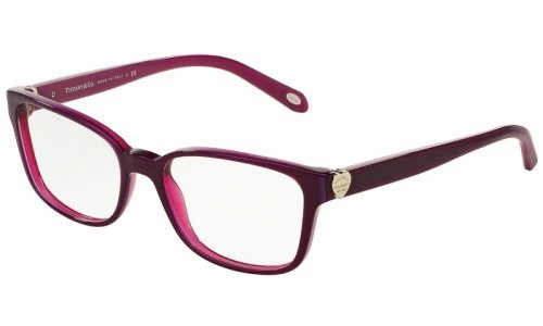 Tiffany & Co. Brillen Für Frau 2122 8173, Pearl Plum Kunststoffgestell, 52mm