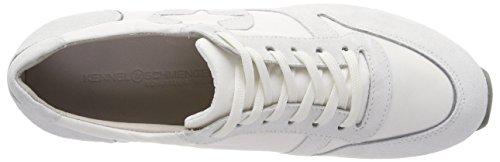 Kennel Et Schmenger Fabricant De Chaussures Lion, Sneaker Donna Blanc (semelle Bianco Blanc-gris)