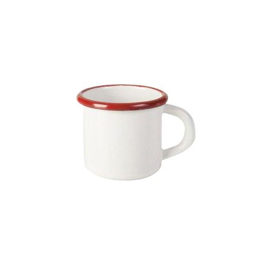 IBILI 909407 Gobelet, Aluminium, Blanc/Rouge, 7 cm