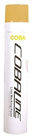 Peinture de marquage temporaire cobaline Line Applicateur Embouts portable couleurs assorties - blanc