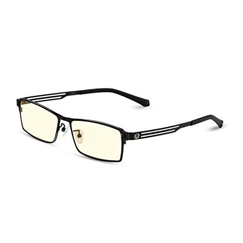 [Computer Lesen Eyewear] Pavoscreen® Advanced Lesung Gaming Brille (Augen Schutz) Entlastung der Augen vor Müdigkeit, und verwackelte Vision Classic Frames -