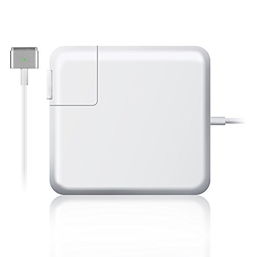 Lapkit 85W Magsafe 2 AC Adapter Charger for Apple MacBook Pro/Air/Retina (White)