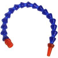 NIANNIAN 10 unidades de boquilla redonda 1/4PT flexible tubo de refrigerante de aceite, azul naranja interruptor inalámbrico