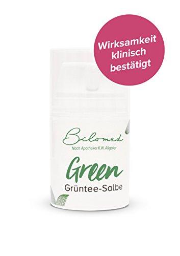 Bilomed Grüntee Intimpflege Creme - Hilft bei Trockenheit, Juckreiz und Brennen - Für einen gesunden Intimbereich - Bekannt aus der Apotheke
