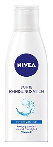 Nivea Sanfte Reinigungsmilch, 4er Pack (4 x 200 ml)