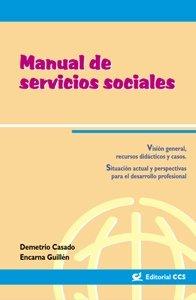 Manual de servicios sociales por Demetrio Casado Pérez, María Encarnación Guillén Sádaba