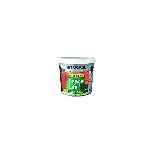 ronseal-rslfldo4lav-4-litre-one-coat-fencelife-paint-dark-oak