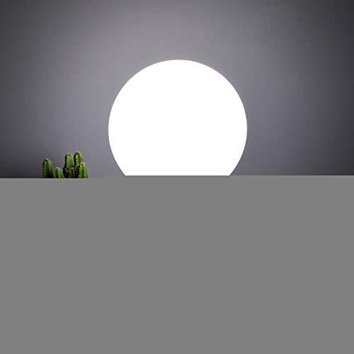 FGHHT Lampara de Mesa Lámpara de Bola de Cristal de Madera Maciza, Dormitorio, lámpara de Mesa LED para el Cuidado de los Ojos de los niños