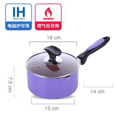 Kochen Töpfe & PfannenMilk People unter dem Topf Kleine koreanische Einhand-Milchkanne Instant...