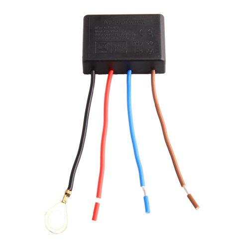 Lampe Teile: 3-level 4-wire Touchschalter für Tischlampen Glühlicht bulb15W - 80W 230V - 240V 50 hz