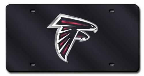 Unbekannt NFL Lasergeschnittene Auto Tag, unisex, LZC2001, Atlanta Falcons, 12